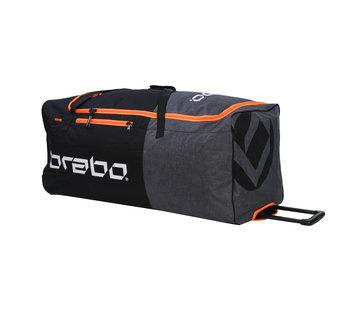 Brabo Torwarttasche Wheeled Std Schwarz/Orange