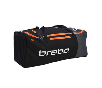 Brabo Goalie Bag Junior Black/Orange