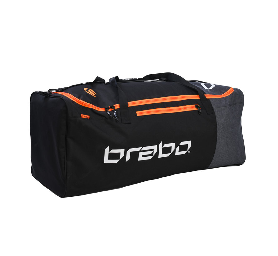Goalie Bag Junior Black/Orange