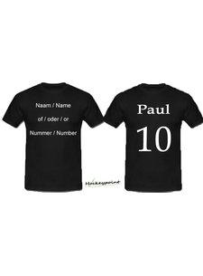 Print name or initials or number
