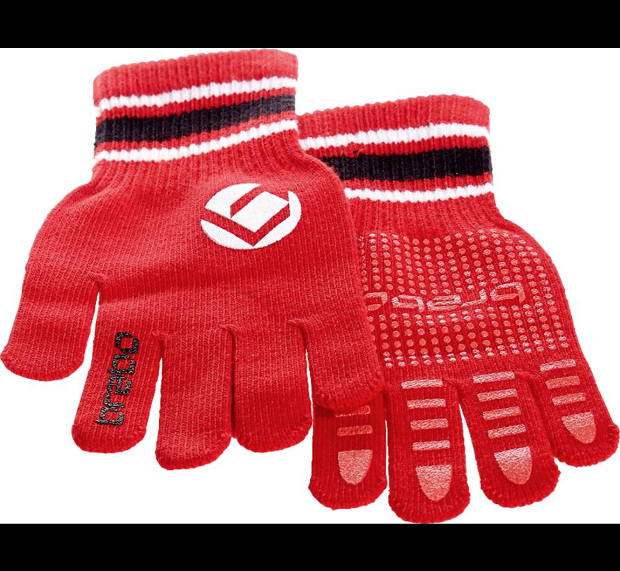 Winter handschoen Rood