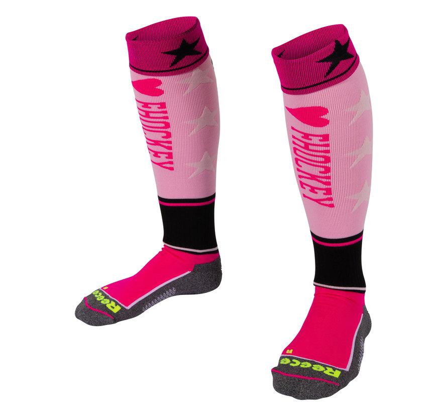 Surrey Socks Pink