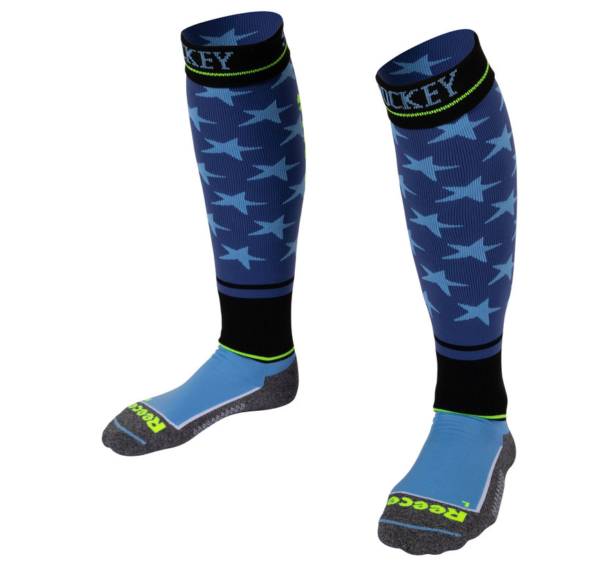 Surrey Socks Blue