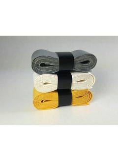 Hockeypoint Chamoisgriff  Assorti ( 1 Weiß, 1 Gelb, 1 Grau )