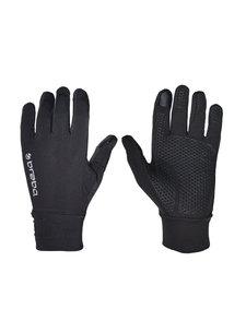 Brabo Tech Gloves Pair Zwart