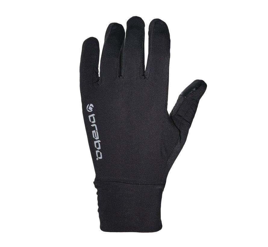 Tech Handschuhe Paar Schwarz