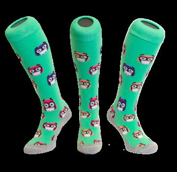 Hingly Hockeysok Owl Green
