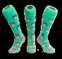 Hockey sock Owl Green
