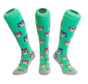 Hockey Socke Eule Grün
