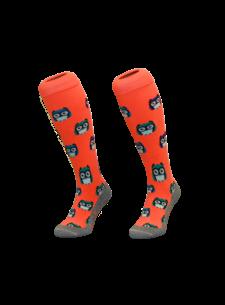 Hingly Hockey Socke Eule Orange