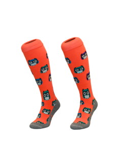 Hingly Hockey sock Owl Orange