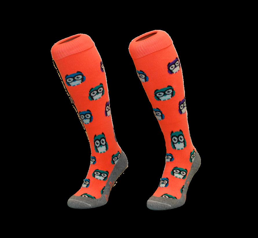 Hockeysok Owl Orange