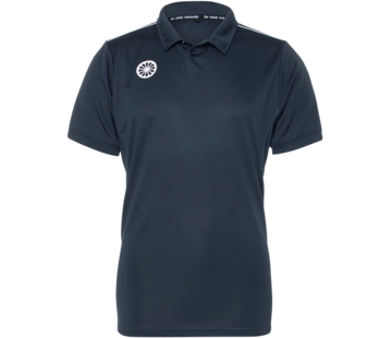 Indian Maharadja Mens Tech Polo Navy