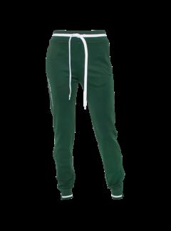 Indian Maharadja Women's Knitted Pants  Dark green