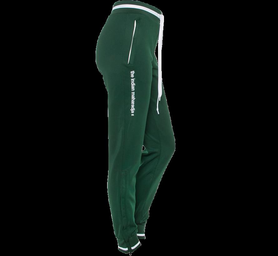 Women's Knitted Pants New Dunkelgrün