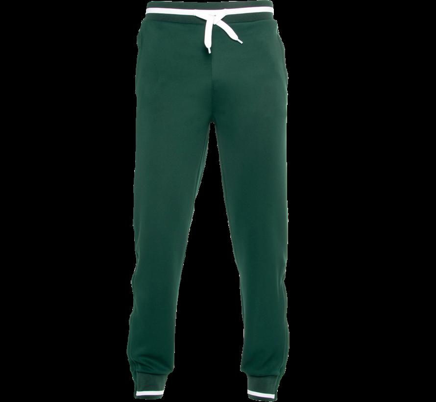 Men's Knitted Pants New Donkergroen