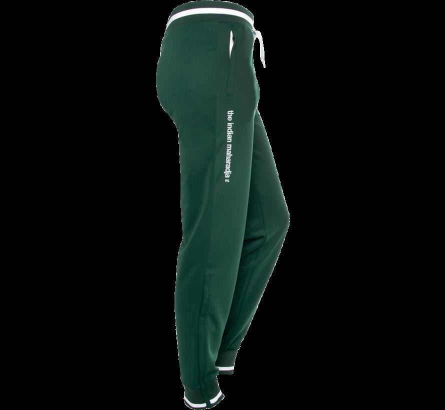 Men's Knitted Pants  Donkergroen