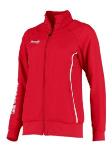 Reece Core Woven Jacket Ladies Red