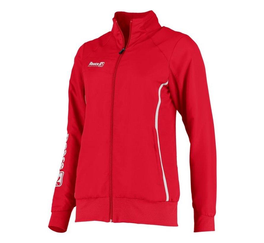 Core Woven Jacket Ladies Rood