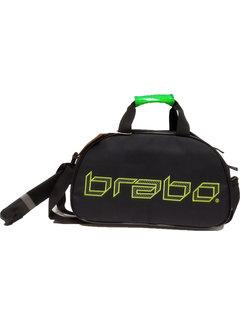 Brabo Umhängetasche Carbon Black / Green
