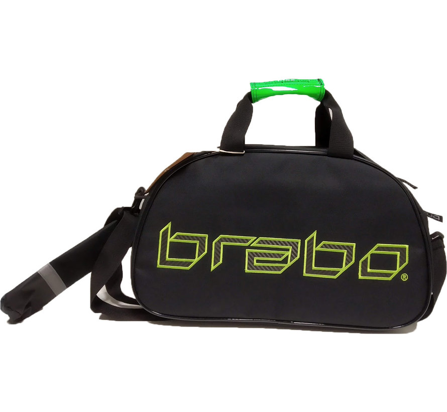 Shoulderbag Carbon Black/Green