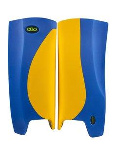Obo Robo Hi-Rebound Legguards Gelb/Blau