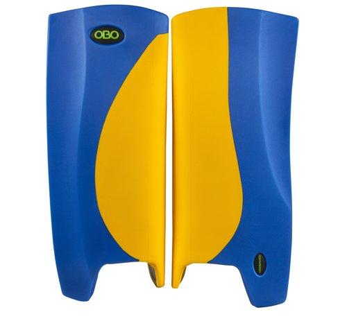 Obo Robo Hi-Rebound Legguards Geel/Blauw