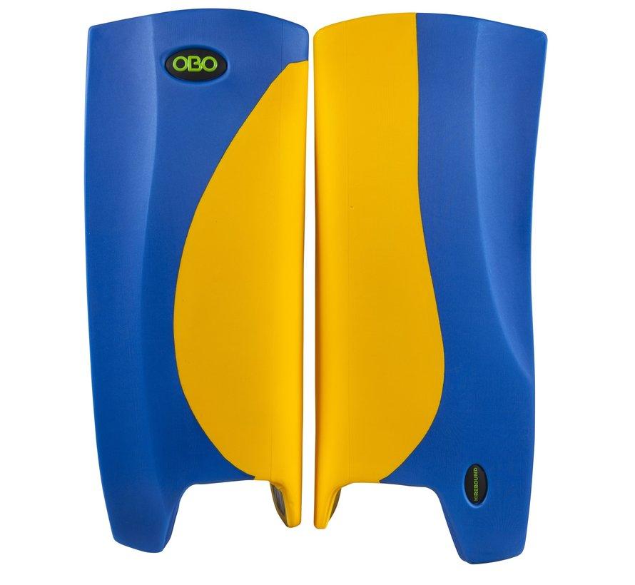 Robo Hi-Rebound Legguards Yellow/Blue