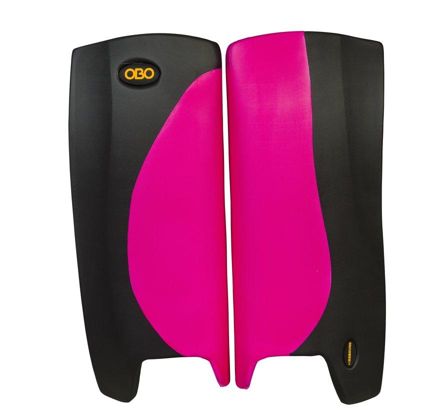 ROBO Hi-Rebound Legguards Roze/Zwart