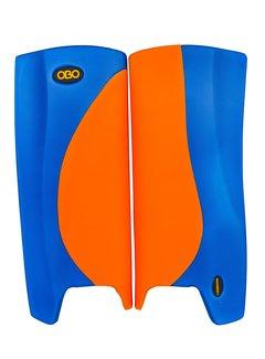 Obo Robo Hi-Rebound Legguards Orange/Blau