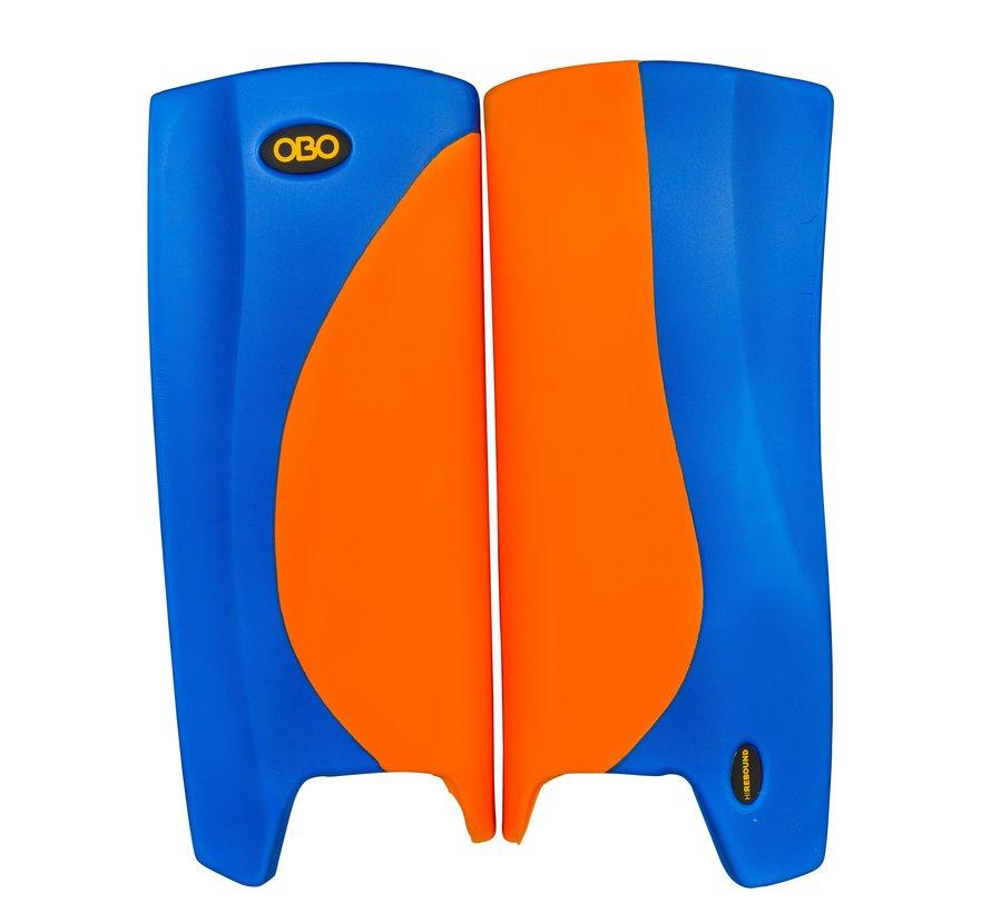 ROBO Hi-Rebound Legguards Orange/Blau