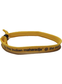 Indian Maharadja Bracelet Navy/Geel