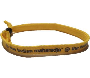 Indian Maharadja Armbandje – Navy/Geel