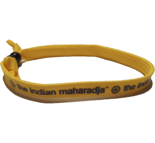Indian Maharadja Bracelet Navy/Gelb