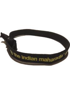 Indian Maharadja Armbandje – Geel/Zwart
