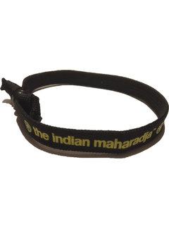 Indian Maharadja Bracelet Geel/Zwart
