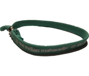 Indian Maharadja Armbandje – Wit/Mint