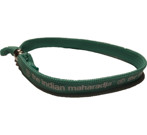Indian Maharadja Armband Weiss/Minze