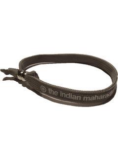 Indian Maharadja Armband  Weiss/Grau