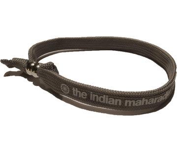 Indian Maharadja Bracelet White/Grey