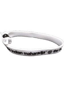 Indian Maharadja Armbandje – Zwart/Wit