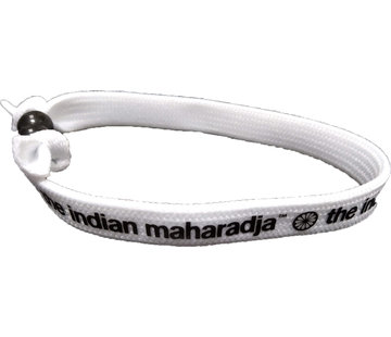 Indian Maharadja Armbandje – Zwart/Wit