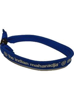 Indian Maharadja Armband Weiss/Royal