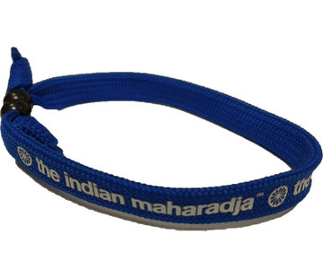 Indian Maharadja Armband Weiss/Royal