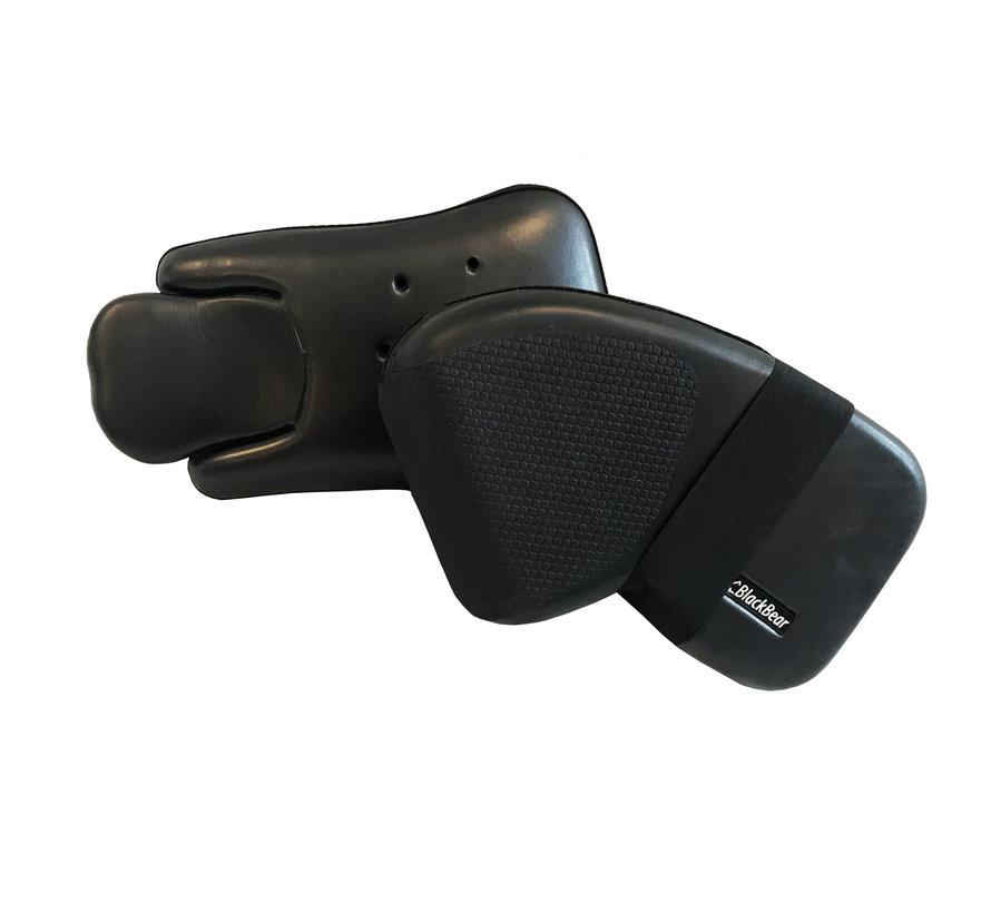 Handschuh Set Senior Schwarz