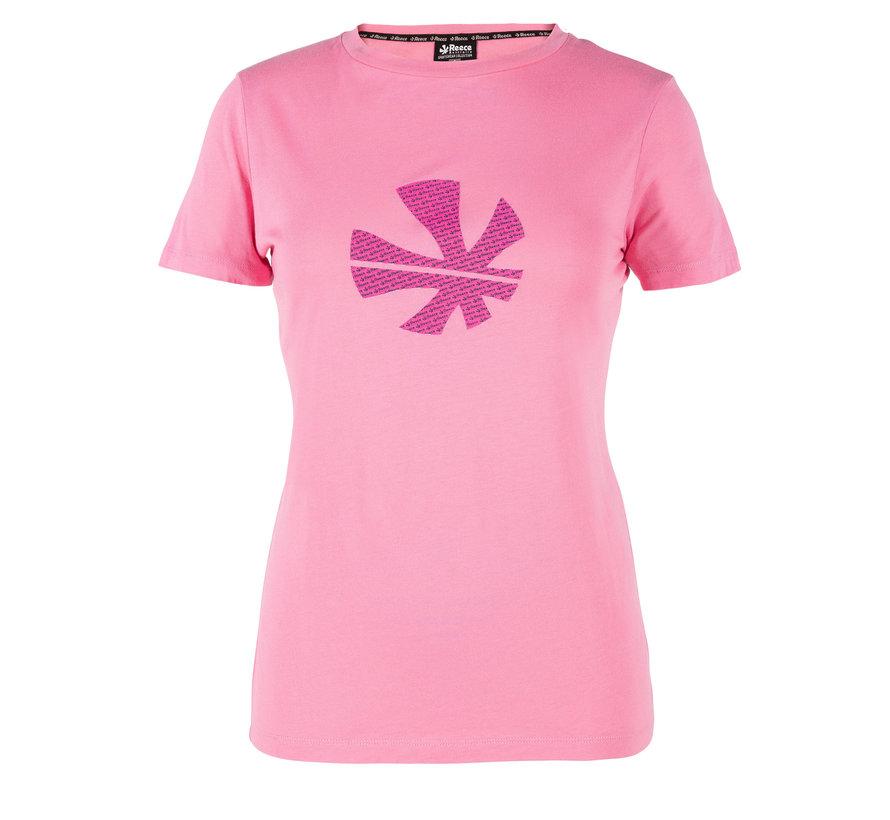 Thora Loose Fit T-Shirt Damen Soft Rose