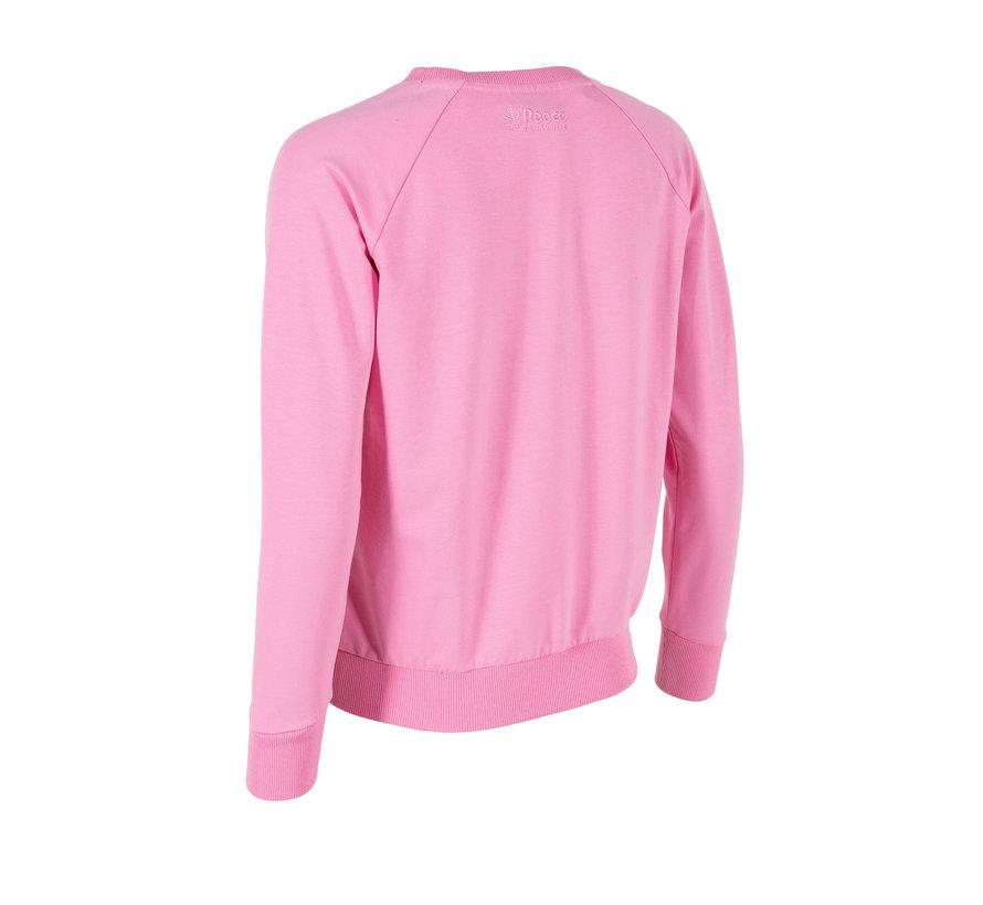 Classic Sweat Top RN Dames Soft Rose