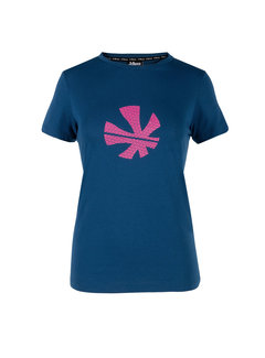 Reece Thora Loose Fit T-Shirt Damen Deep Ocean