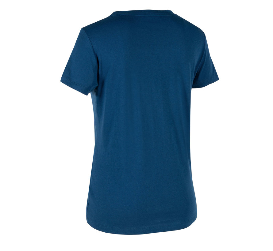 Thora Loose Fit T-Shirt Damen  Deep Ocean