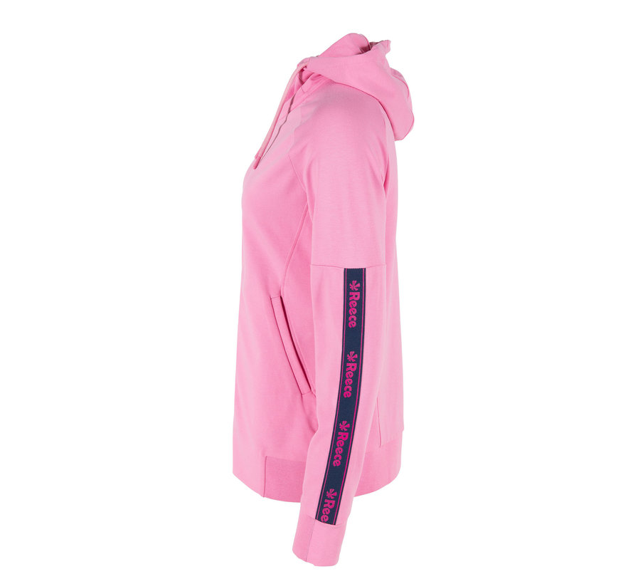 Studio Hooded Sweat Top FZ Ladies Soft Rose